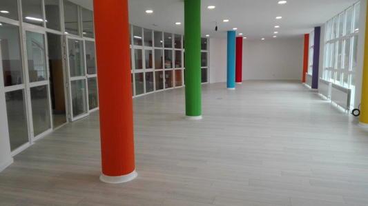 Columnas sala multiusos